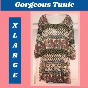 Tops - Beautiful ruffle bottom tunic